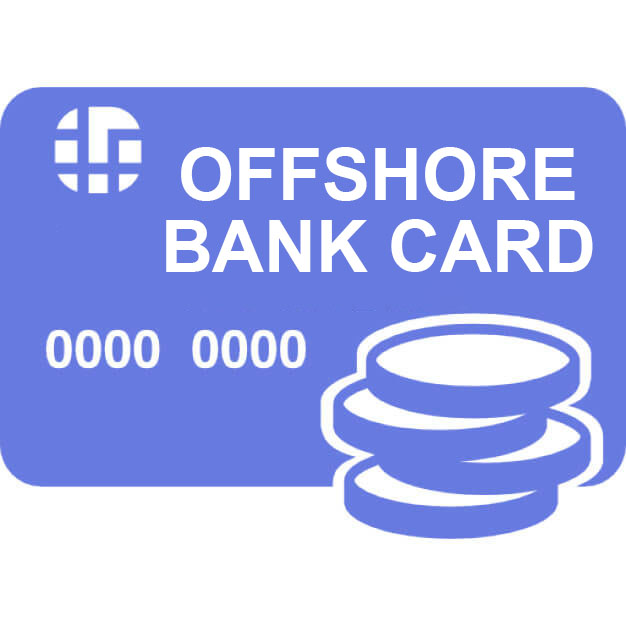 Offshore bank card