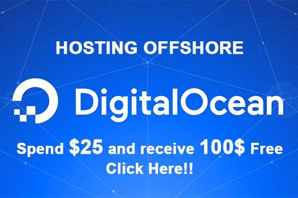offshore hosting digital ocean