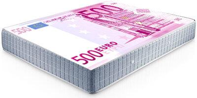Esconder dinero en el colchón