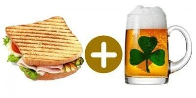 Sandwich holandés y doble irlandés