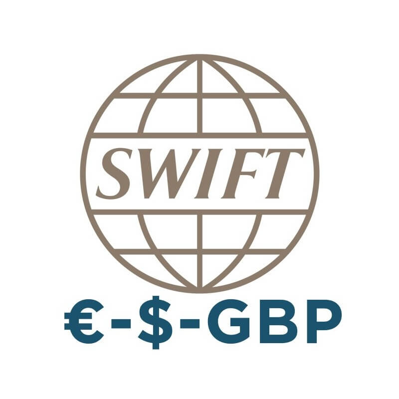 Bank account with SWIFT in Hong Kong