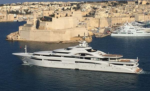 Residencia en barco en un paraíso fiscal