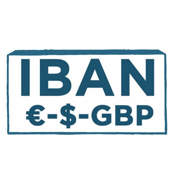 Offshore bank account IBAN United Kingdom