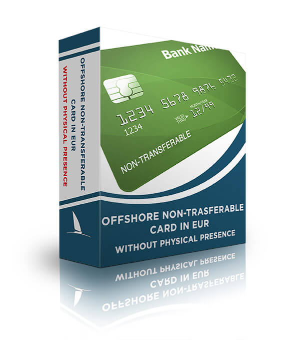 Offshore non-transferable card in EUR