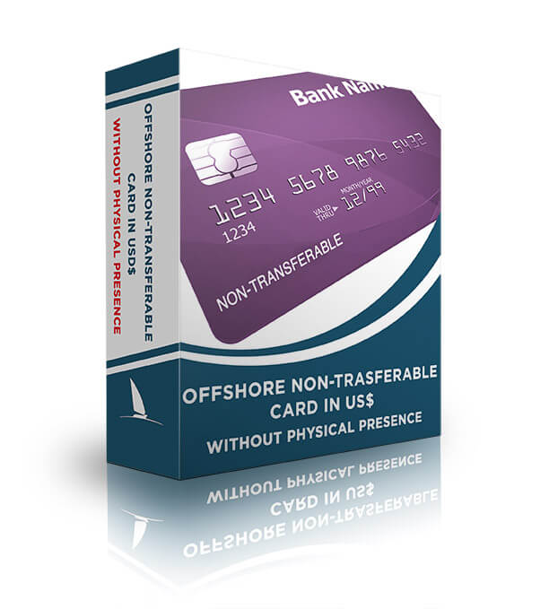 Offshore non-transferable card in USD$